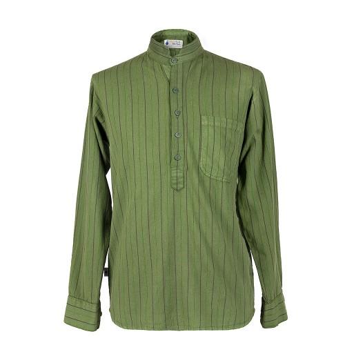 Camisa Quichua 03 VERDE